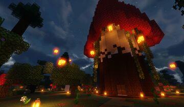 Mushroom Home ♥ Minecraft Map & Project