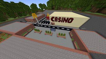 Working casino v0.2 (beta) Minecraft Map & Project