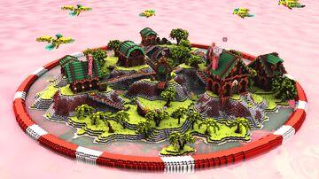 Beach Hub | 1.8 - 1.17 | Minecraft Map & Project