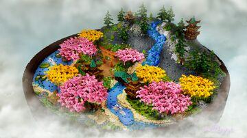 。⋆ Oriental 200x200 Spawn/Hub 。⋆ Minecraft Map & Project
