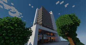 UAA Tower Minecraft Map & Project