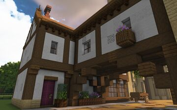 The Merry Widow Tavern, Linford-upon-Avon Minecraft Map & Project