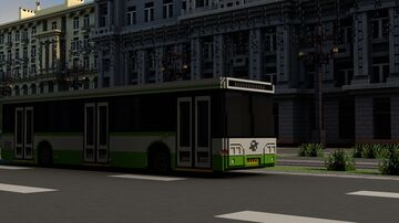 LiAZ-5292 Minecraft Map & Project