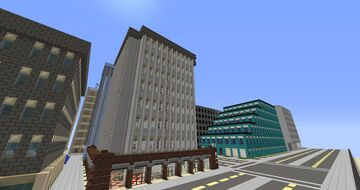 modern apartment with shops Minecraft Map & Project