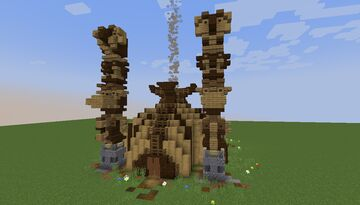 Totem Shop - Native American Theme - [World Download] Minecraft Map & Project