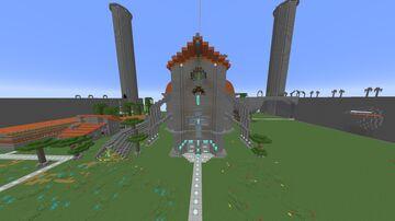 Big Plase Minecraft Map & Project