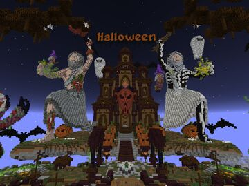 Lobby   Spawn for halloween Minecraft Map & Project
