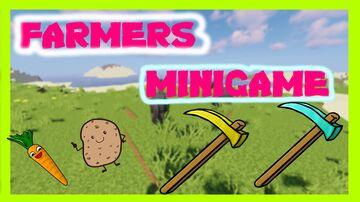(っ◔◡◔)っ ♥ FARMERS MINIGAME ♥ Minecraft Map & Project