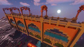 ironscale/eis style bridge Minecraft Map & Project