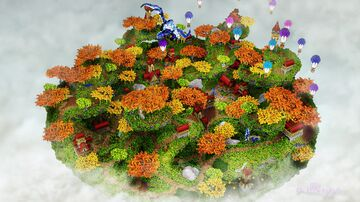 。⋆ Autumn Oneblock 250x250 Spawn  。⋆ Minecraft Map & Project