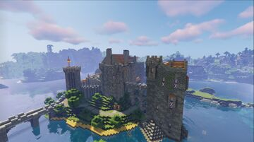 Red Castle Minecraft Map & Project
