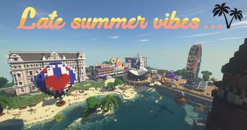 Late Summer Vibes - Beach Showcase Minecraft Map & Project
