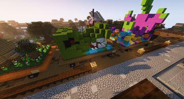 Alligator Float Minecraft Map & Project