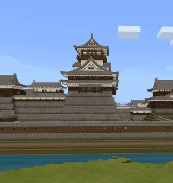 Japanese Dungeon (Tenshu) Minecraft Map & Project