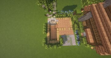 Custom Spruce and Jungle roof Ranch house Minecraft Map & Project