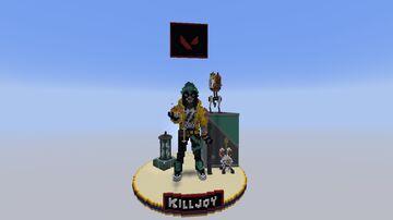Killjoy (Valorant Agent) Minecraft Map & Project