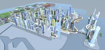 Ancorio city project 2.0 Minecraft Map & Project