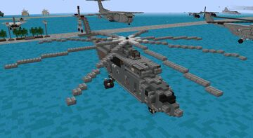 "Mil Mi-26 izdeliye 90. ""Halo"" (1.5-1) Minecraft Map & Project"