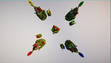 🏹BedWars MushRoom 🏹 1.12.2 + Download!! Minecraft Map & Project