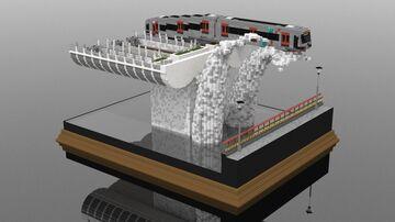 Staartspoor | 3:1 Diorama Minecraft Map & Project