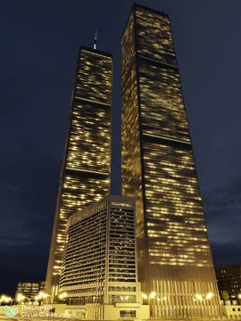 World Trade Center | New Limesville City | NL | UCS Minecraft Map & Project