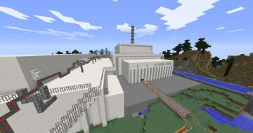 Chernobyl Nuclear Powerplant (RBMK) working 1.7.10 HBM Minecraft Map & Project