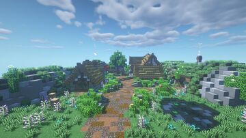 The White Downs Minecraft Map & Project