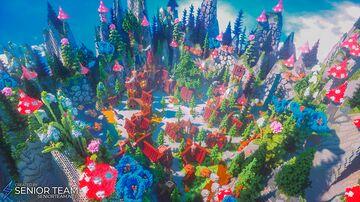 Garden Server Hub Minecraft Map & Project