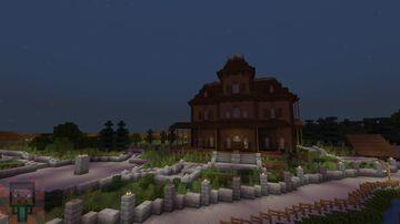 Phantom Manor from Disneyland Paris Minecraft Map & Project