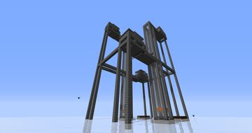 Very Productive Iron Farm Minecraft Map & Project