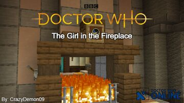 The Girl in the Fireplace - Doctor Who Online Minecraft Map & Project