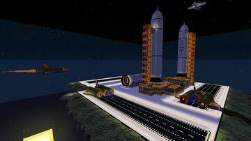 Skyworld Spawn BlockCanavral Minecraft Map & Project