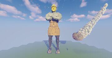 Daniel 2 Statue Minecraft Map & Project