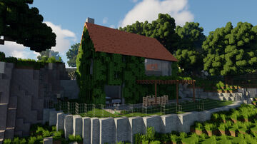 Le Bush - Modern House + Cinematic Video! Minecraft Map & Project