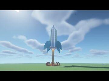 Rocket Minecraft Map & Project