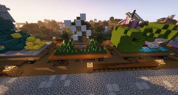 Windmill Float Minecraft Map & Project