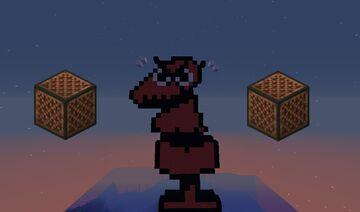 Undertale Dummy Battle In Note Blocks! (Schematic) Minecraft Map & Project