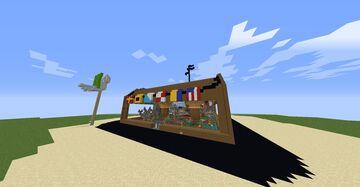 The MEGA Krusty Krab Minecraft Map & Project