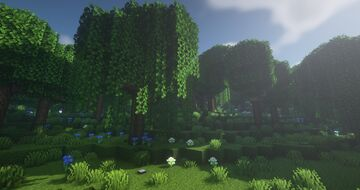 ArtistW03's Custom Terrain Map & Custom Villages|Dungeons [Data-Pack Combination] Minecraft Map & Project