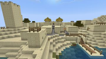 """Two Towns (""""New Build World-old"""") [2/4 Restored Worlds Preservation Project] {Tested on 1.17.40} Minecraft Map & Project"""