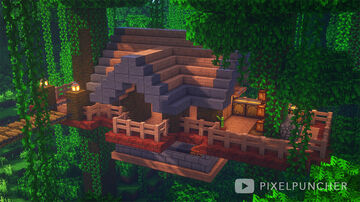 Jungle Survival House Minecraft Map & Project