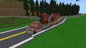 Fallout 4 Red Rocket Fuel Tanker Minecraft Map & Project