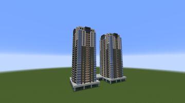 Rona Towers, Erbil, Iraq Minecraft Map & Project