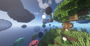 Skyblock Planets: SKYBLOCK WITH A TWIST! - V1.1 Minecraft Map & Project