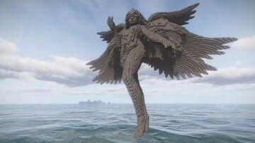 Kayle transcendance statue Minecraft Map & Project
