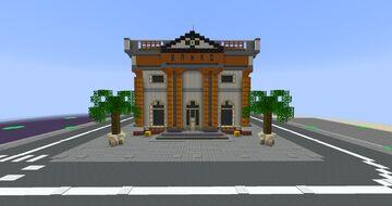 Tropico 5 Bank Minecraft Map & Project