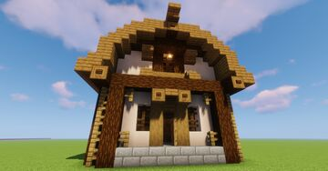 Barn Trading Hall Minecraft Map & Project