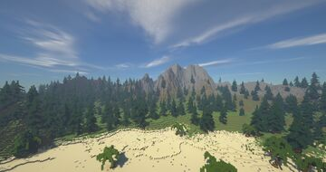 Volcano Minecraft Map & Project