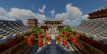 Ancient Chinese Street Minecraft Map & Project