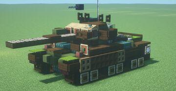 Strv. 104 (w/ IR box) (1.5:1 scale) Minecraft Map & Project